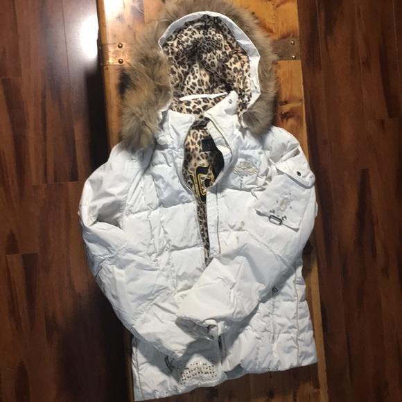 09d1a8b0b6 Bogner Jackets   Blazers - Bogner Ski Jacket white with beautiful details